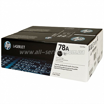 Картридж HP LJ P1566/ 1606DN/ 1536dnf DUAL PACK (CE278AF)