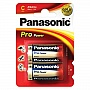 Батарейка Panasonic PRO POWER C BLI 2 ALKALINE (LR14XEG/2BP)