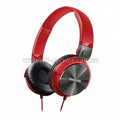 Наушники Philips SHL3160RD/00 Red