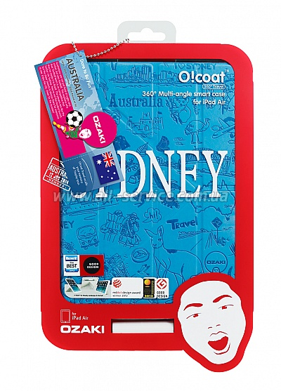 Чехол OZAKI O!coat-Travel iPad Air Sydney OC111SY