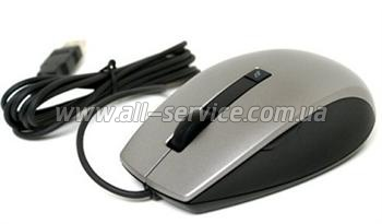 Мышь DELL Laser Scroll USB (6 Buttons) Black Mouse (570-10521)