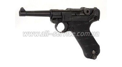 Пистолет KWC Luger P-08 4,5 мм Blowback (KMB41DHN)