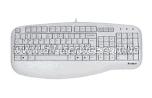 Клавиатура A4 KL-30 X-Slim White Usb
