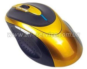 Мышь Perixx Perimice-303 USB Gaming Laser Gold (10203)