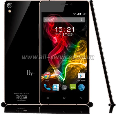 Смартфон FLY IQ4516 Tornado Slim black