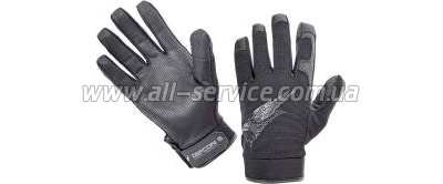 Перчатки Defcon 5 SHOOTING GLOVES WITH LEATHER PALM BLACK XL black (D5-GLAV01 B/XL)