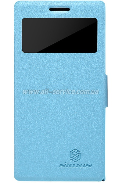Чехол NILLKIN Huawei Ascend P6 - Fresh Series Leather Case (Blue)