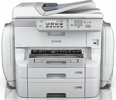 МФУ А3 Epson WorkForce Pro WF-R8590DTWF RIPS с WI-FI (C11CE25401)