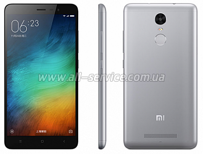 Смартфон Xiaomi Redmi Note 3 2/16 gb Gray
