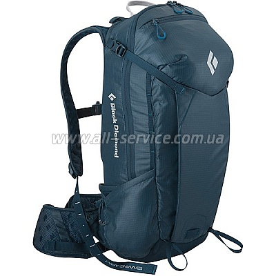 Рюкзак BLACK DIAMOND HARD Nitro 26 Morrocan Blue 26л р.S/M (681161.MRCB-S/M)