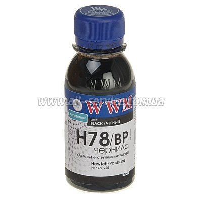 ������� WWM ��� HP �178 100� Black ���������� (H78/BP-2)