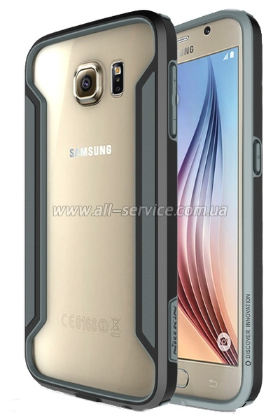 Чехол NILLKIN Samsung S920/ S6 - Bordor series Black