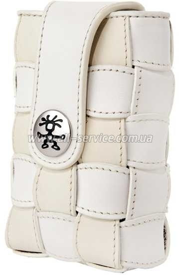 Чехол фото Crumpler Checker 90 кожа white (CHE90-006)