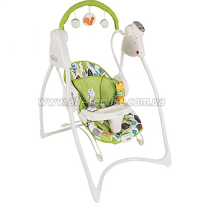 ������-������� Graco SWING'N'BOUNCE Bear Trail (1B96BTAE)