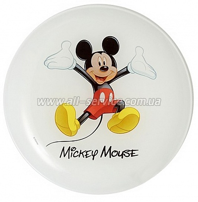 Тарелка десерт. Luminarc DISNEY MICKEY COLORS (L2125)