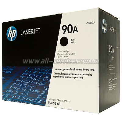 Картридж HP LJ Enterprise M4555 series (CE390A)