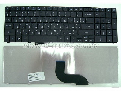 Клавиатура NB ACER Aspire 5810T 5410T 5236 5250 5349 5536 5542 5552 5738 5741 5742 5749 5750 5820 7540 7745 7750 eMachines E440 E442 E640G E642 E729Z E730Z E732 G640 G732 G729Z G730 BLACK RU