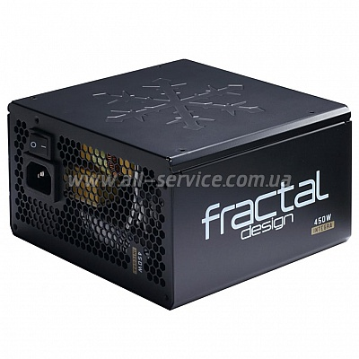 Блок питания FRACTAL DESIGN Integra SFX 450W (FD-PSU-IN-SFX-450W-BK)