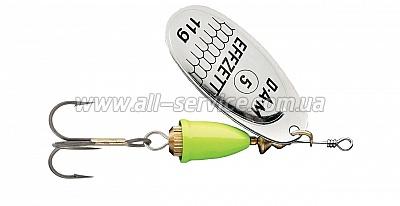 Блесна-вертушка DAM Effzett Executor 3гр (silver lemon) (5127403)