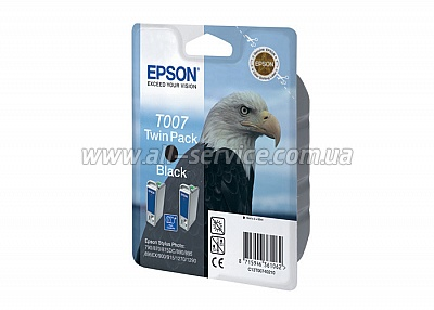 Картридж Epson St Photo 870/ 1270/ 1290/ 895 black (double) (C13T00740210)