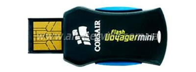 Флешка Corsair Flash Voyager Mini 32Gb (CMFUSBMINI-32GB)