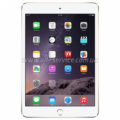 Планшет Apple A1566 iPad Air 2 Wi-Fi 32Gb Gold (MNV72TU/A)