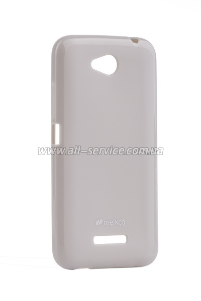 Чехол MELKCO HTC Desire 616 Poly Jacket TPU Gray