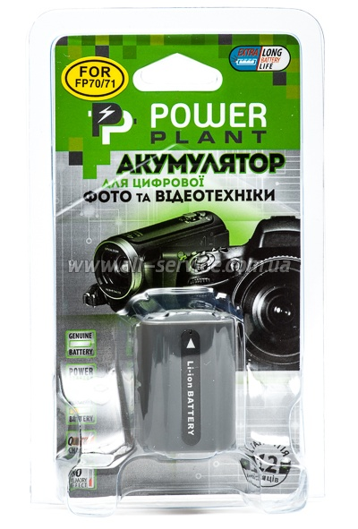 Aккумулятор PowerPlant Sony NP-FP70 (DV00DV1026)
