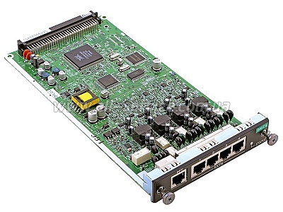 Плата расширения Panasonic KX-NCP1170XJ для KX-NCP1000, 4-Port Digital Hybrid Extention Card