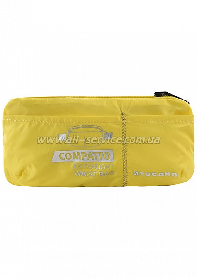 Сумка на пояс раскладная Tucano COMPATTO XL WAISTBAG PACKABLE YELLOW (BPCOWB-Y)