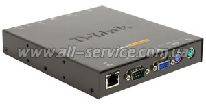 KVM-переключатель D-Link DKVM-IP1 1port over IP (DKVM-IP1)