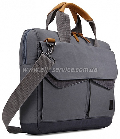 "Сумка для ноутбука CASE LOGIC LoDo 15.6"" Attache LODA115GR Graphite"