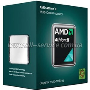 Процессор AMD Athlon II 64 X2 265+ 3.3Gh 2MB Regor 65W sAM3 (ADX265OCGMBOX)