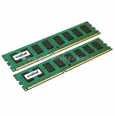 Память 8GB Micron Crucial DDR3 1866Mhz KIT 1.35/1.5V (CT2K51264BD186DJ )