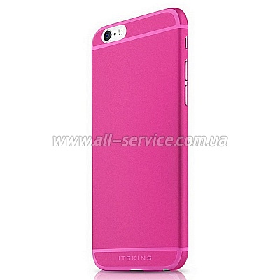 Чехол ITSKINS ZERO 360 for iPhone 6 Pink (APH6-ZR360-PINK)