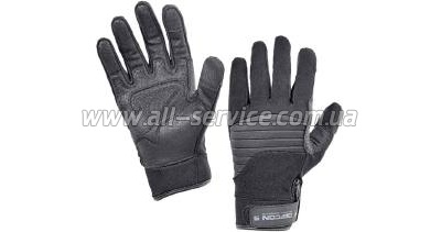�������� Defcon 5 ARMOR TEX GLOVES WITH LEATHER PALM BLACK M black (D5-GL320PPG B/M)
