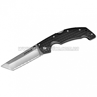 Нож Cold Steel Voyager Lg. Tanto Point Serrated (29TLCTS)