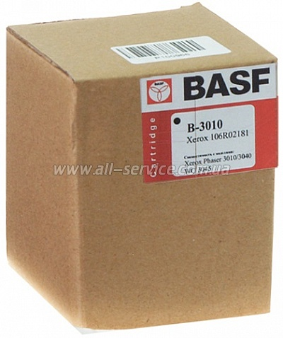 Картридж BASF XEROX Phaser 3010/ 3040/ WC 3045 (аналог 106R02181)