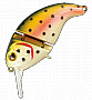 ������ Nomura Joint Crank 60�� 13,6��. ����-081 (NATURAL TROUT) (NM50808106)