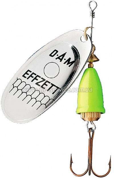 Блесна-вертушка DAM Effzett Executor 4гр (silver lemon) (5127404)