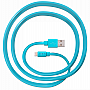Кабель JUST Freedom Lightning USB (MFI) Cable Blue (LGTNG-FRDM-BL)