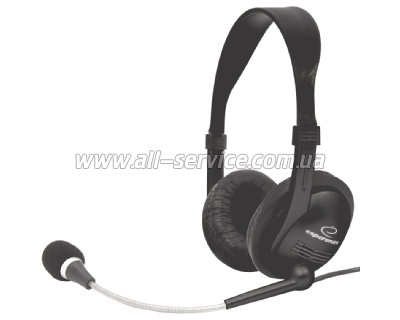 Гарнитура Esperanza Headset EH115 Black