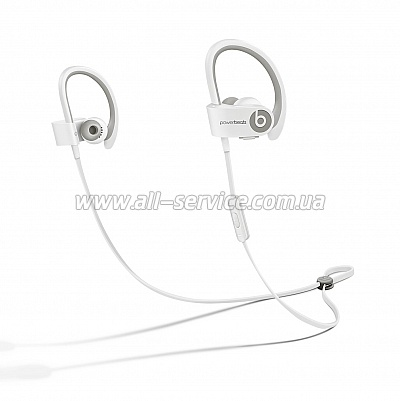 Наушники Beats Powerbeats 2 Wireless White (MHBG2ZM/A)