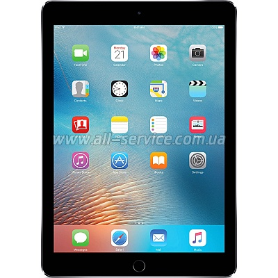 Планшет Apple A1674 iPad Pro 9.7-inch Wi-Fi 4G 256GB Space Gray (MLQ62RK/A)