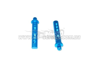 (82914) Blue Alum Rear Body Posts 2P