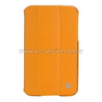 ����� JISONCASE Premium Leatherette Smart Case for Samsung Galaxy Tab 3 7