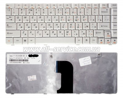Клавиатура NB LENOVO IdeaPad E45 U450 WHITE US