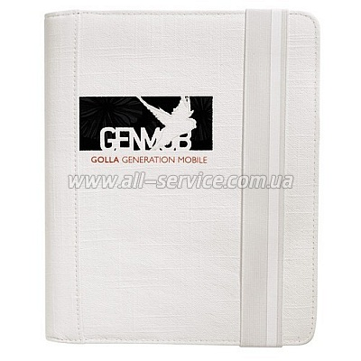 Чехол для iPad 2 Golla TABLET FOLDER G1325 LINDA - white