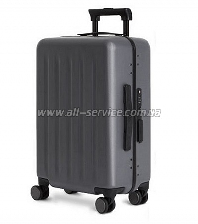 Чемодан Xiaomi 90 points lightweight aluminum suitcase 20' Grey