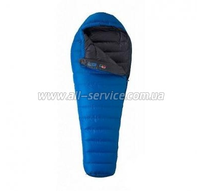 Спальный мешок MARMOT Helium Long L blue/dark (22490.2777-Lft)